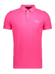 Superdry Polo M11MT009F3 POLO MGR PINK
