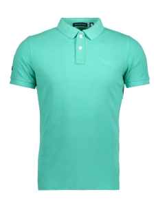 Superdry Polo M11MT009F3 POLO ZUH SUMMER MINT