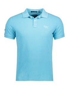 Superdry Polo M11MT009F3 POLO ZUJ TURQUOISE