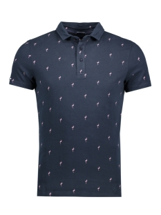 Superdry Polo M11001HO CITY MOTIF 98T ECLIPSE NAVY