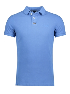 Superdry Polo M11009TNF3 VINTAGE 3PB BLUE