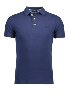Superdry Polo M11011ONDS CLASSIC POLO XES BLUE