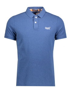 Superdry Polo M11002OODS CLASSIC ZXK BOSTON BLUE