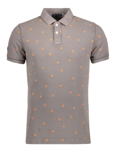 Superdry Polo M11006TO VINTAGE POLO DE7 WARM GREY