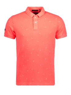 Superdry Polo M11006TO VINTAGE POLO QPT CORAL