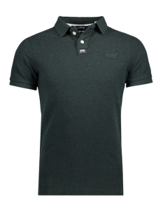 Superdry Polo M11011ONF4 CLASSIC POLO XWQ GREEN