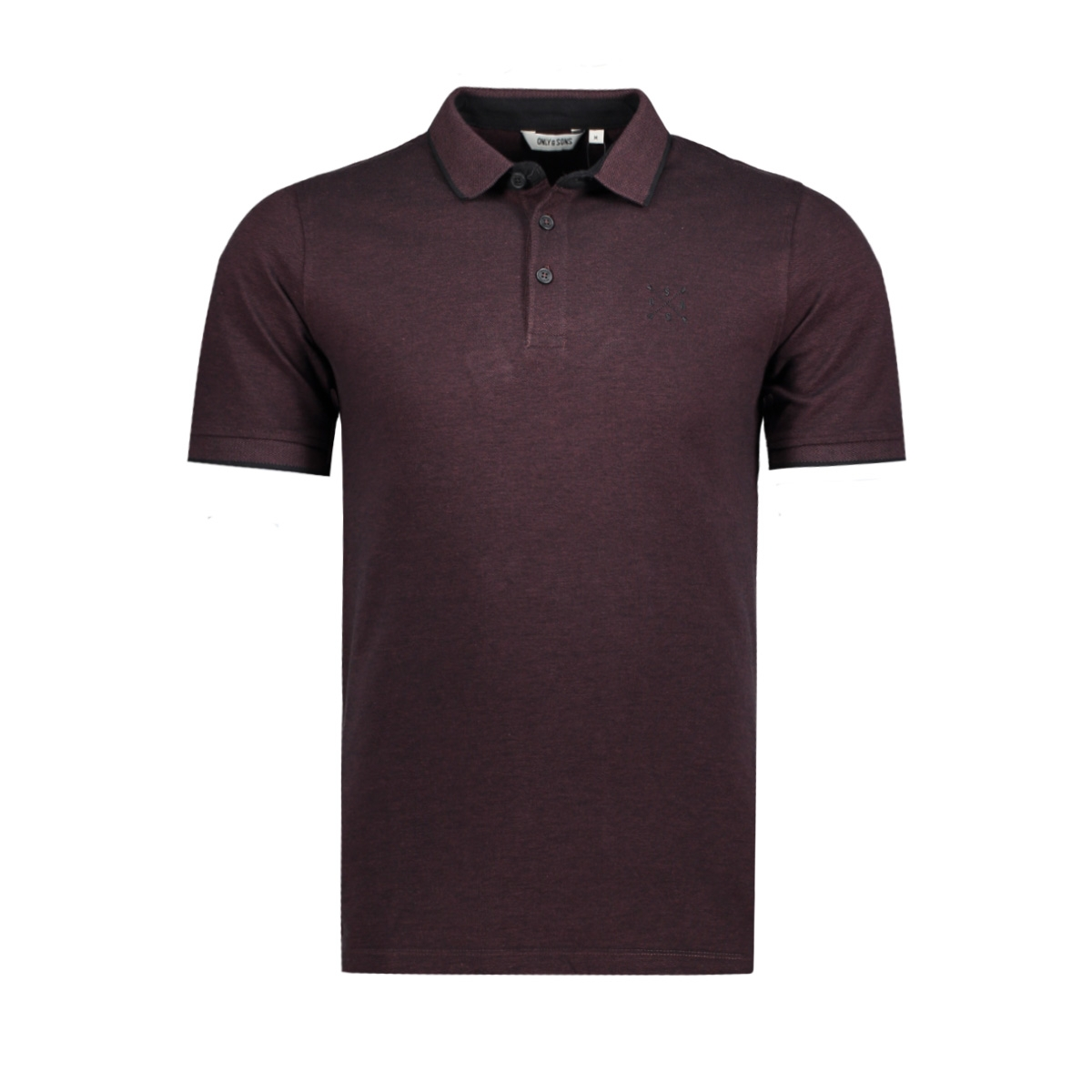 onsstan ss fitted polo tee noos 22006560 only & sons polo fudge