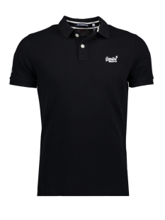 Superdry Polo M11000NS1 02A (Black)