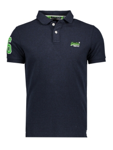 Superdry Polo M11002OQF2 POLO MM7 BLUE