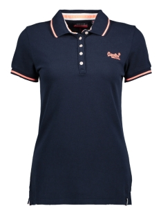 Superdry T-shirt G60008TQ PACIFIC POLO NT9 NAVY