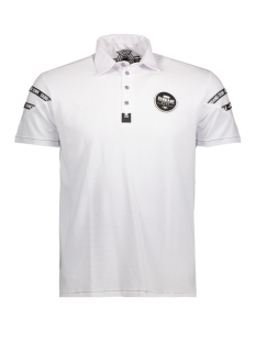 13872 gabbiano polo white