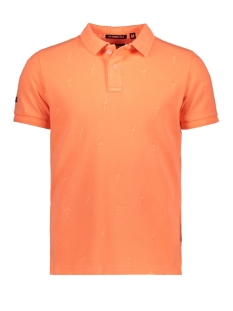 Superdry Polo M11004TQ QPT (Washed Coral)