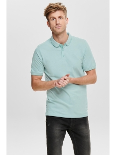 Only & Sons Polo onsSTAN SS FITTED POLO TEE (6560) NOOS 22011349 Aquifer
