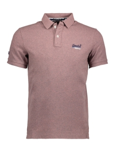Superdry Polo M11002OQF2 Haze Pink Grindle(RQ9)