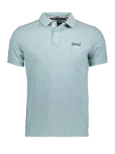 Superdry Polo M11002OQF2 Mint Green Grindle(XV7)