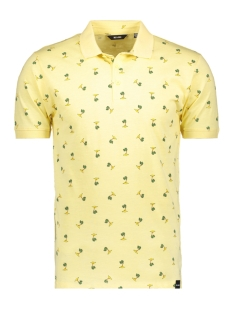 Only & Sons Polo onsDACIDOR AOP SLUB POLO 22010786 Mellow Yellow