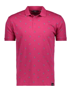 Only & Sons Polo onsDACIDOR AOP SLUB POLO 22010786 Cherries Jubilee