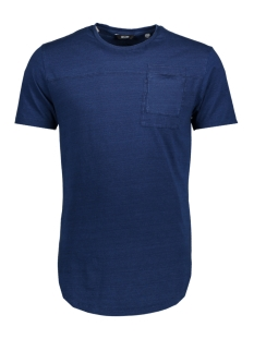 Only & Sons T-shirt onsFALLON POCKET SS TEE 22010943 Dark Blue Denim
