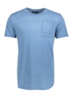 Only & Sons T-shirt onsFALLON POCKET SS TEE 22010943 Light Blue Denim