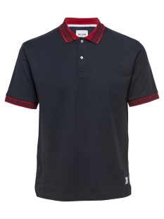 Only & Sons Polo onsBENJAMIN SS POLO EXP 22012406 Dark Navy