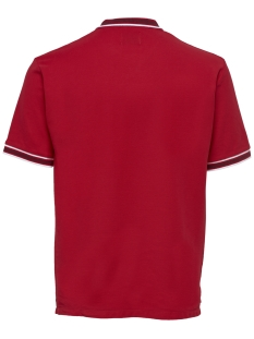 onsbenjamin ss polo exp 22012406 only & sons polo racing red