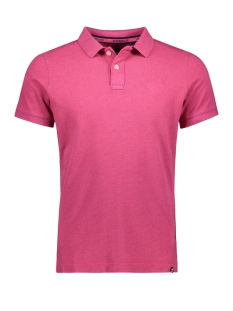 Superdry Polo M11017RT FLORIDA PINK MARL