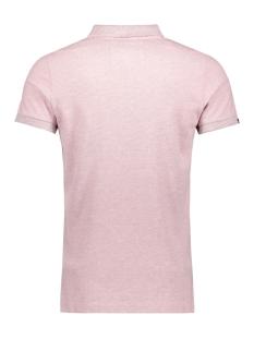 m11017rt superdry polo powder pink marl