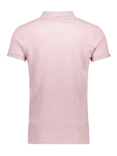 m11017rt vintage destroyed polo superdry polo powder pink marl