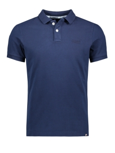 m11017rt superdry polo beach navy marl