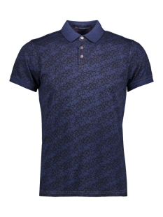 NO-EXCESS Polo COLD DYED POLO  90370212 136 Indigo Blue