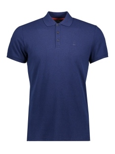 NO-EXCESS Polo JACQUARD POLO 90370217 136 Indigo Blue
