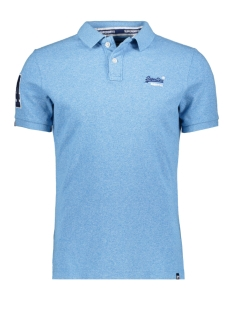 Superdry Polo CLASSIC PIQUE POLO M11006ET SEA SPRAY GRIT