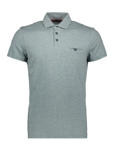 NO-EXCESS Polo JAQUARD POLO 90370309 125 Lt Seagreen