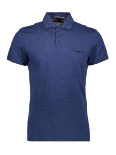 jaquard polo 90370309 no-excess polo 136 indigo blue