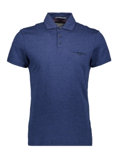 NO-EXCESS Polo JAQUARD POLO 90370309 136 Indigo Blue