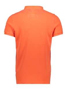 hyper classic pique polo m11010et superdry polo fluro orange