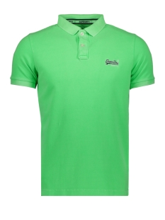 Superdry Polo HYPER CLASSIC PIQUE POLO M11010ET HYPER LIME