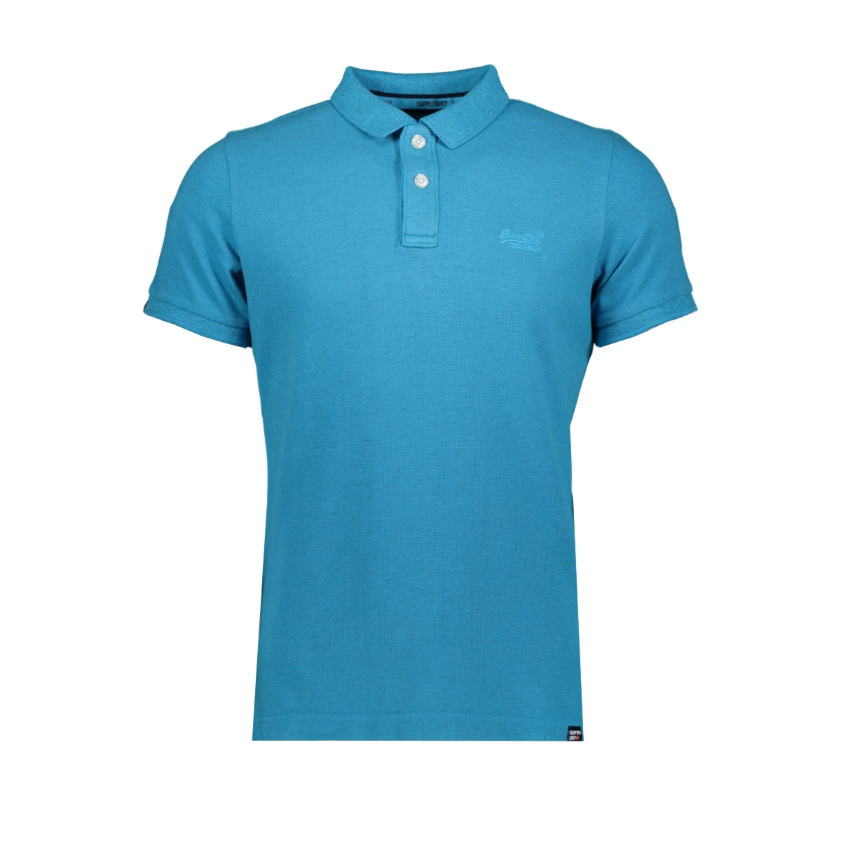m11017rt vintage destroyed polo superdry polo beach blue marl