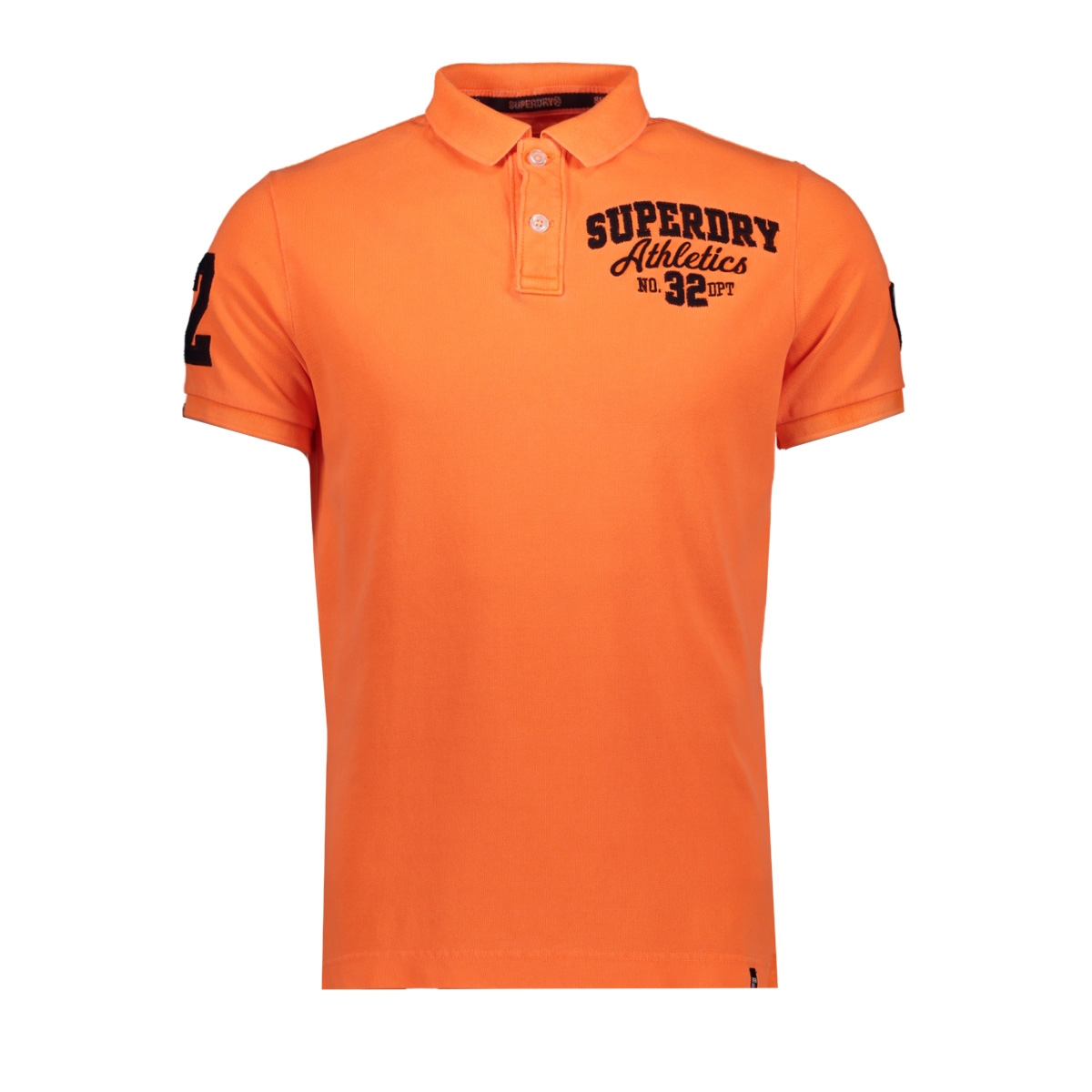 bermuda polo m11002et superdry polo fluro orange