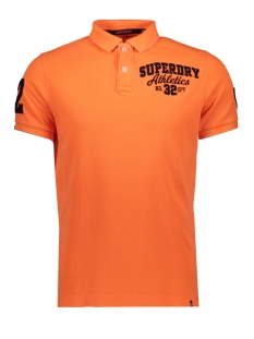 Superdry Polo BERMUDA POLO M11002ET FLURO ORANGE