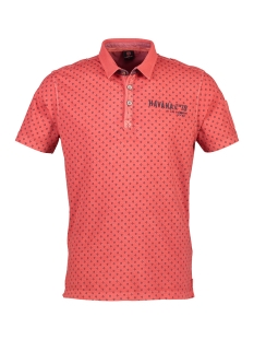 Lerros Polo KORTE MOUW POLO MET ALL OVER PRINT 2933271 347