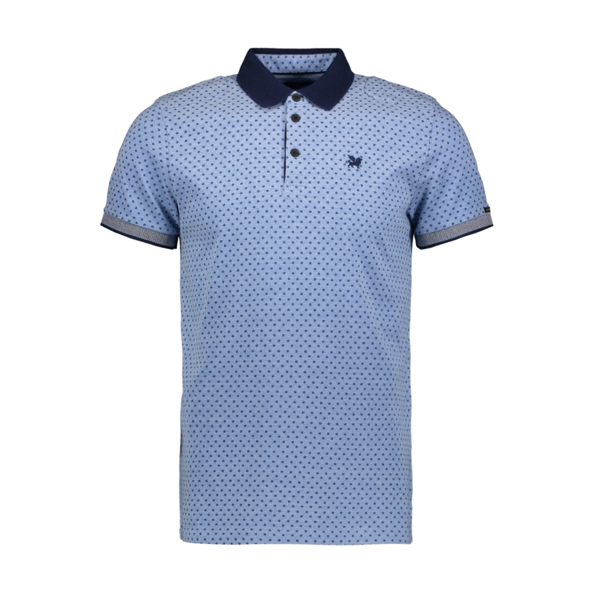 pique two tone stretch polo vpss193664 vanguard polo 5068
