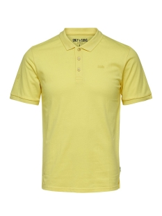 Only & Sons Polo onsSCOTT PIQUE POLO NOOS Mellow Yellow