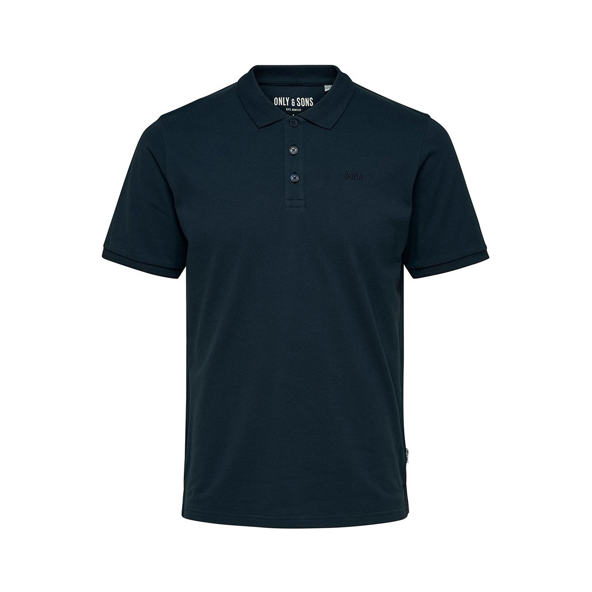onsscott pique polo noos 22013117 only & sons polo dress blues