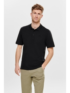 onsscott pique polo noos 22013117 only & sons polo black