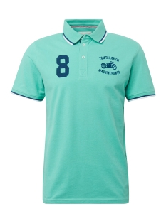 polo met logoborduursel 1010771 tom tailor polo 16338