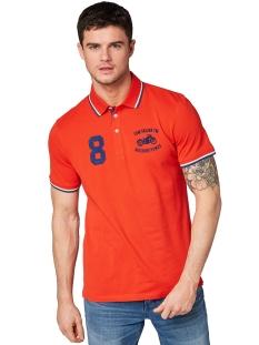 polo met logoborduursel 1010771 tom tailor polo 13189