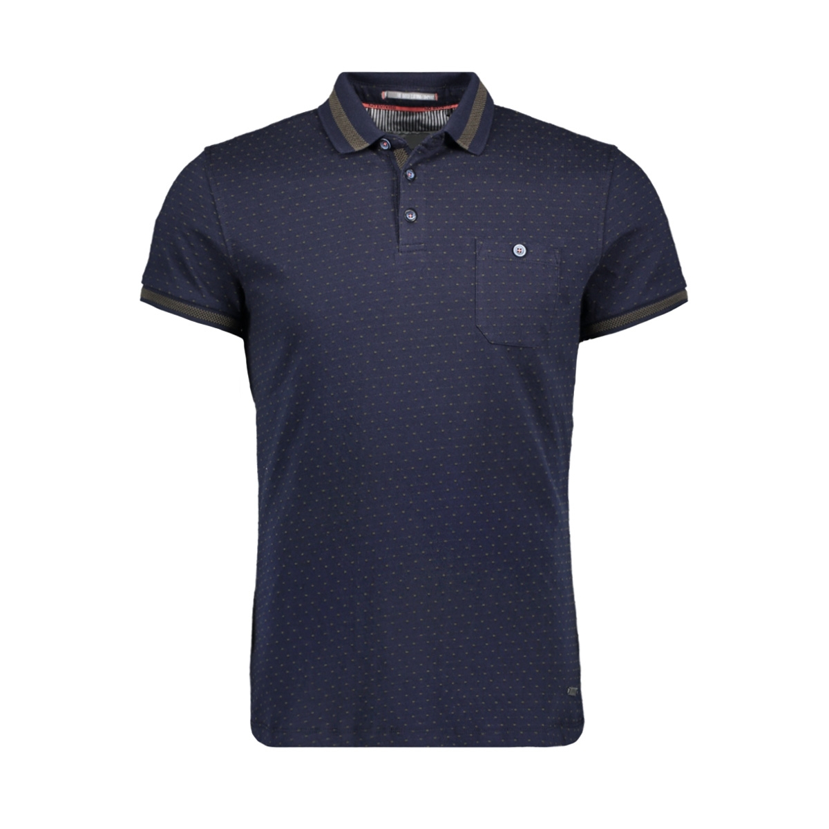 polo jaquard dots 90370403 no-excess polo 078