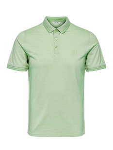 Only & Sons Polo ONSSTAN SS FITTED POLO TEE (6560) NOOS 22011349 Grayed Jade