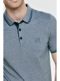 onsstan ss fitted polo tee (6560) noos 22011349 only & sons polo majolica blue